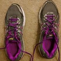 Asic Purple Running Shoes Photo