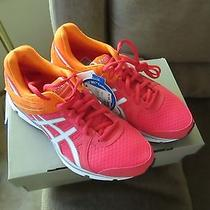 Asic's Gel Invasion Women's Running Shoes Hot Punch/white/orange Size 6 New Photo