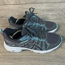 Asics 1011a561 Gel-Venture 7 Running Shoes Mens Size 11 Blue Gray Black Photo