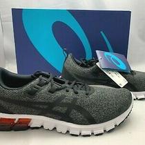 Asics 90 Dark Gray Grey Black Gel Quantum 90 Running Shoes Sneakers Men Sz 8.5 Photo