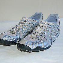 Asics Blue Gel Dirt Diva 3 Track and Field Trail Running Racing Shoe 10.5 Photo