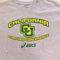 Asics Coaches Conference Sports Art  Gray L Large T Shirt  Photo