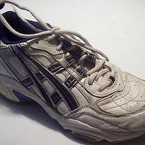 Asics Duomax Sl656 White Blue Running Athletic Training Shoes Size 9.5  Closet Photo