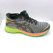 Asics Dynaflyte Flytefoam Womens Size 6.5 Running Shoes T6f8y Grey Yellow Coral Photo