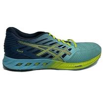 Asics Fuse X Running Shoes Womens Size 9.5 9 1/2 Blue Green Sneakers T689n Photo