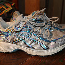 Asics Gel-1140 Speva Womens Running Shoes Size 8.5 Gray Silver & Blue Pre-Owned Photo