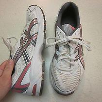 Asics Gel 170tr White Pink Running Sneakers 8 M - Nice Photo