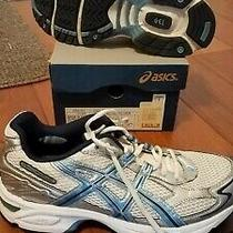 Asics Gel 240tr Womens Running Shoes Size 9.5 Silver Blue White 9 1/2 Photo