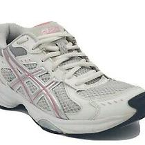 Asics Gel Ahar Womens Size 6 Pink White Running Athletic Sneakers Shoes S360n Photo