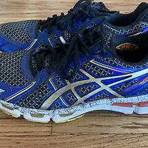 Asics Gel- Blue Running Athletic Shoes Size 9 Photo
