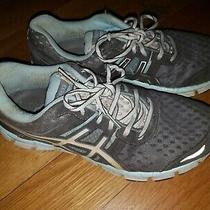 Asics Gel-Blur 33 Womens Size 8.5 Running Shoes Gray/blue/silver Sneakers Photo
