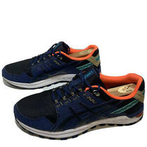 Asics Gel Citrek Black Blue Coral  Running Shoes 1021a221-002 Men's 11 - A2 Photo
