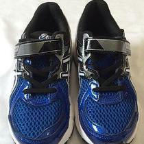 Asics Gel Contend 2 Kid's Boy's Running Sneaker Shoe Size 13 Blue White Nib Photo