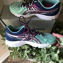Asics Gel-Contend 2 Running Shoes - Womens Size 7.5 - Ice Blue/silver/pink Ex Photo