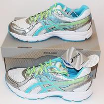 Asics Gel-Contend 2 Women's Running Shoes White Turquoise T475n Size 9.5 Wide Photo