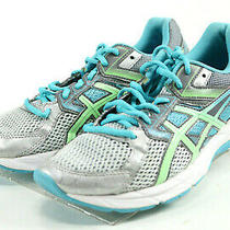Asics Gel Contend 3 130 Women's Running Shoes Size 9 D Wide Gray Aqua Blue Photo