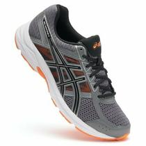 Asics Gel Contend 4 Men's Running Shoe Carbon/orange Size 11 Photo