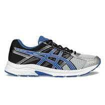 Asics Gel Contend 4 Men's Running Shoe Silver/blue/black Size 11 Photo