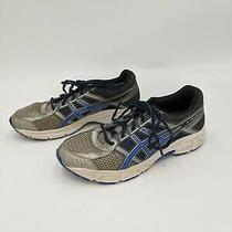 Asics Gel-Contend 4 Silver/navy/gray Running Athletic Shoes Womens Sz 5.5 Photo