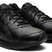 Asics Gel-Contend 5 Sl Men's Walking Shoes - Size 13 Xtra Wide (4e) - Black/grap Photo