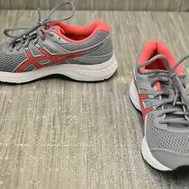 Asics Gel-Contend 6 1012a570-020 Running Shoes Women's Size 8 Gray Photo
