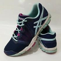 Asics Gel Craze Running Shoes S383n Womens Size 11 Purple Teal Aqua Athletic  Photo