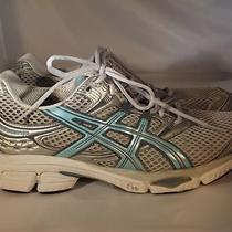 Asics Gel Cumulus 11 Running Shoe Women's Us Size 10 Grey/silver/aqua T997n Photo