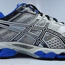 Asics Gel Cumulus 15 Men's Running Shoes Size Us 8.5 2e Wide Eu 42 White T3c1n Photo