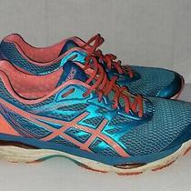 Asics Gel-Cumulus 18 Blue & Orange Women's Size 11 Running Training Shoes T6c8n Photo
