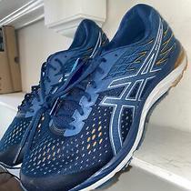 Asics Gel-Cumulus 21 Men's Running Shoes Size 11.5 Blue/white Euc Msrp 120 Photo