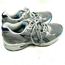 .asics Gel-Equation 4 Running Shoes Silver Blue Tof8n Women Size Us 6.5 Eu 37.5 Photo