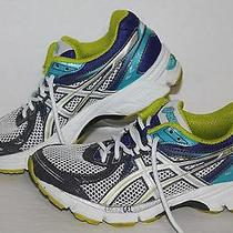 Asics Gel Equation Running Shoes T2d7n White/ppl/lime/turq Women's Us Size 5 Photo