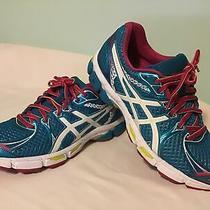 Asics Gel-Exalt 2  Running Training Shoes  Blue & Pink  Womens Size 9.5 T4b6n Photo