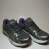 Asics Gel Exalt Size 8.5  Women's Running Shoes T379n. Grey/purple/green Duomax Photo