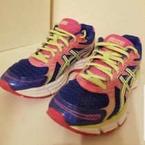 Asics - Gel-Excite 2 Blue Pink Yellow Running Shoes - Women's 7.5 Photo