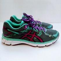 Asics Gel Excite 3 Women's Running Shoes Charcoal/grape/aqua Splash Sz11 Julb3 Photo