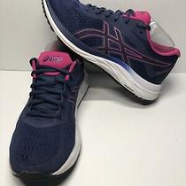 Asics Gel Excite 6 Running Shoes Women's Size 10 Blue Pink White Trail Photo