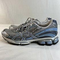 Asics Gel Fluent 2 T9c6n Women's Size 9 Running Cross Training Shoes Gray/blue. Photo