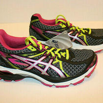 Asics Gel-Flux 3 Womens Black/silver/pink Running Shoe T664n. Sz5 Eur 35.5 New Photo