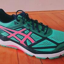 Asics Gel Foundation 12 (Size 13) Women's Running Shoes T5h5n Mint/coral/blue Photo