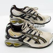 Asics Gel Frantic 3 Womens Ivory Brown Running Training Sneaker Shoe 6m U5 Photo