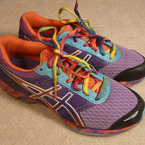 Asics Gel Frantic 7 Bright Colors Running Athletic Shoes Size 6.5 Photo
