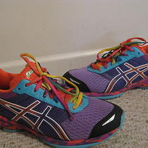 Asics Gel Frantic 7 Bright Colors Running Athletic Shoes Size 9.5 Photo