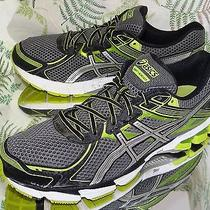 Asics Gel Gt-1000 Green Black Walking Running Fitness Sneakers Shoes Mens Sz 12 Photo