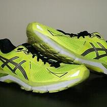 Asics Gel Gt-2000 Size 12 Women Yellow Neon Running Shoes Photo