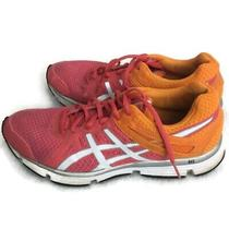 Asics Gel-Invasion Womens Athletic Training Running Shoes Size 8.5 Pink/orange Photo