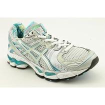 Asics Gel-Kayano 16 Womens Size 8.5 White Mesh Cross Training Shoes New/display Photo