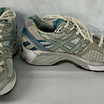Asics Gel Kayano 17 T150n Women's Size 8 Teal White Silver Running Shoe Used Photo