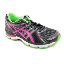 Asics Gel-Kayano 19 Gs Youth Girls Size 5 Black Mesh Running Shoes New/display Photo