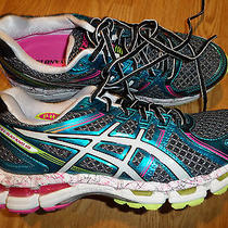 Asics Gel Kayano 19 Running Shoes Women's 8 M Ln Condition Rtl 150 Photo